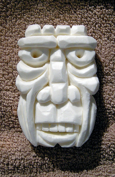 Cameo zoe soap carving