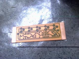 hasil etching PCB