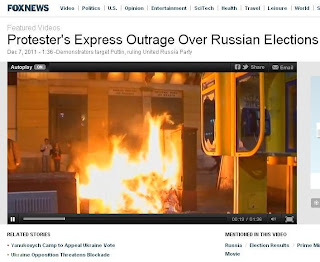 Fox news lies about Protest in Russia proved