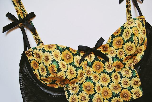 Sunflower Mesh Babydoll - Non Padded