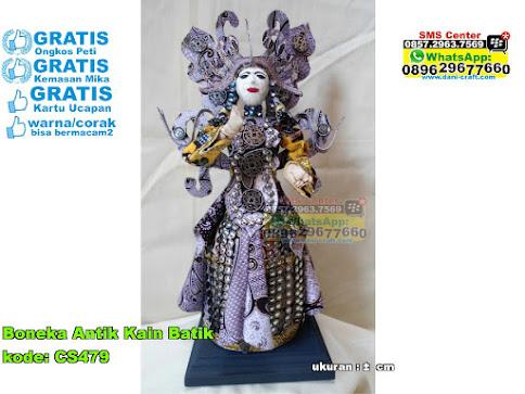 Boneka Antik Kain Batik