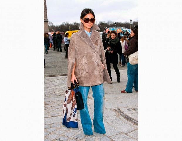 miroslava duma,look anni 70,street style,montone,mariafelicia magno fashion blogger,fashion blog italiani,fashion blogger italiane,montone,colorblock by felym