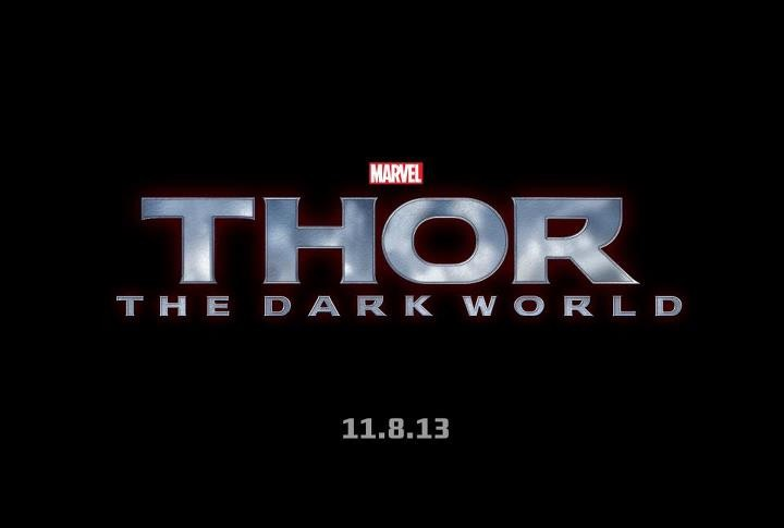 Thor The Dark World 2013 Super Hero Movie Title
