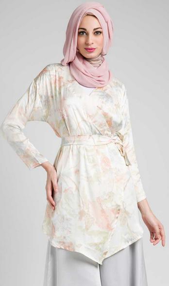 Gambar Busana Muslim Batik Modern