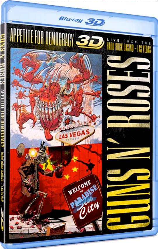 Guns n' Roses - Appetite For Democracy