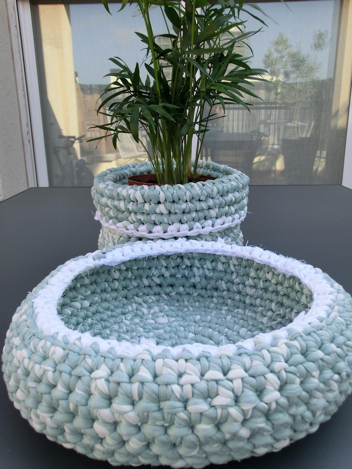 ... des de l?tic: ...tutorial de ganxet XXL / Crochet XXL tutorial