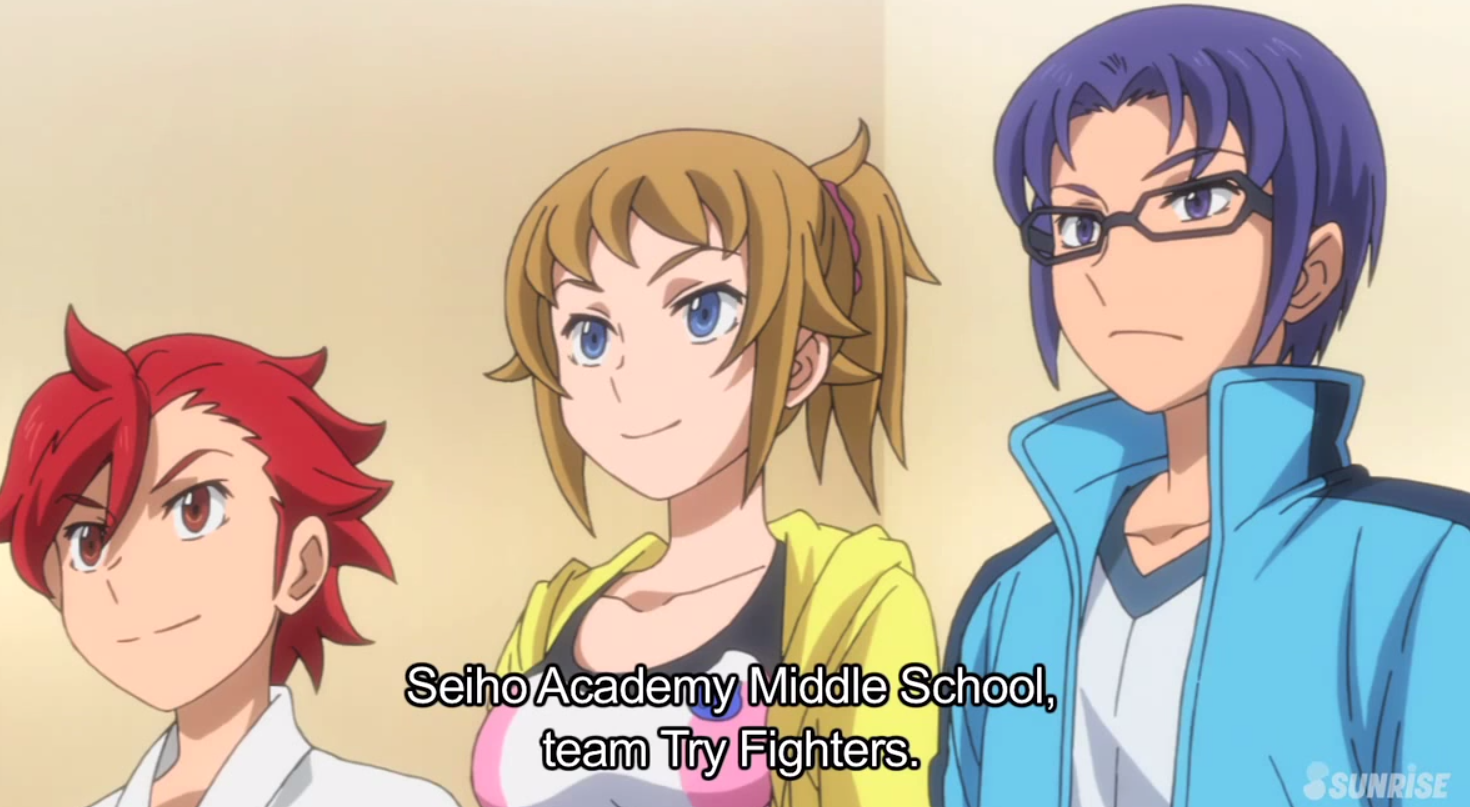 Seiho Academy Middle School - Team Try Fighters