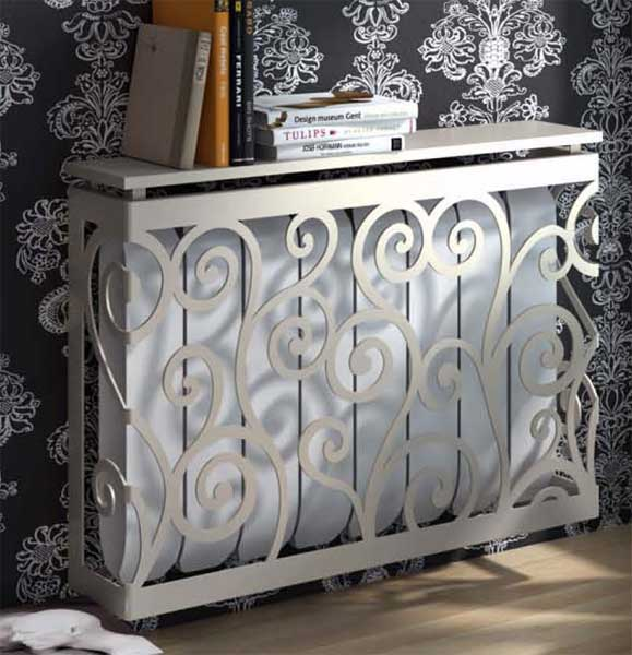 Muebles de forja cubre radiadores forja a medida - Cubreradiadores de forja ...