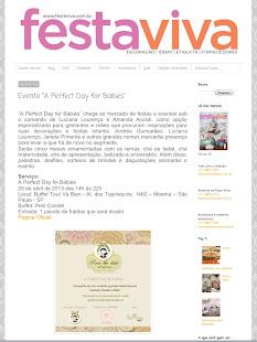 Revista Festa Viva - Abril/2013