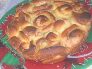 la torta delle rose versione natalizia