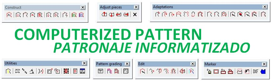 COMPUTERIZED PATTERNING - PATRONAJE INFORMATIZADO