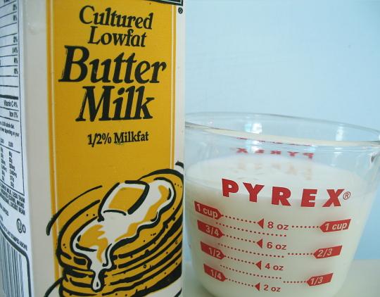 tak jumpa buttermilk buat sendiri senang je 1 cup fresh milk fresh ...