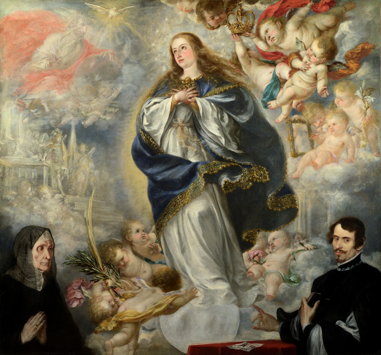 Juan de Valdes Leal - The Immaculate Conception with Two Donors