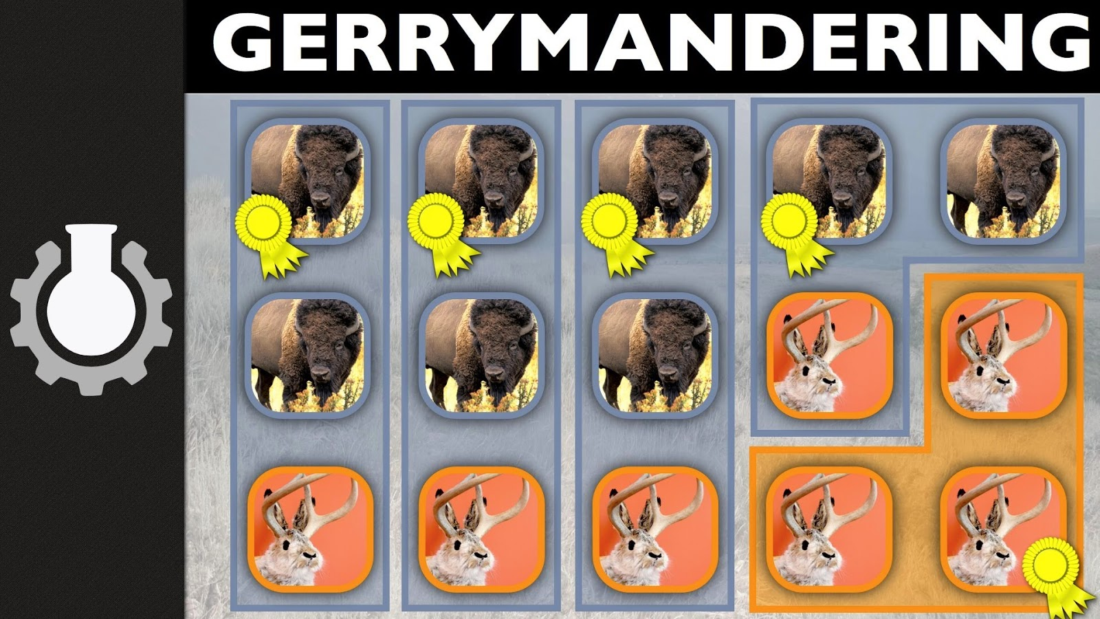 government gerrymandering The classic in mission two you experience the classic abuse of the redistricting system: a partisan gerrymander the word gerrymander comes from a famous case of redistricting in massachusetts in 1812 the governor at the time, elbridge gerry, signed a map into law that included a district shaped like a salamander.