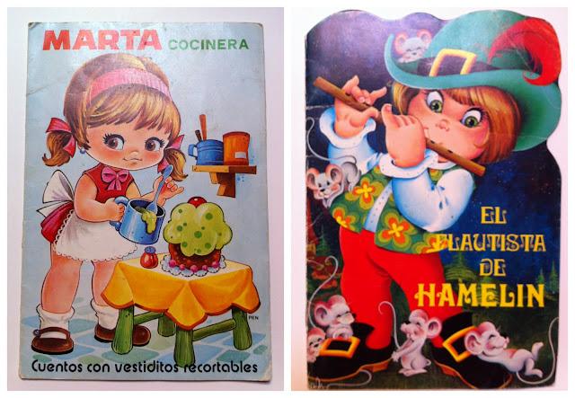 Cuentos vintage de mi infancia