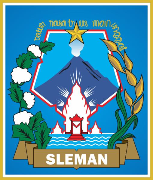 Logo Kabupaten Kota Logo Kabupaten Sleman Daerah Istimewa Yogyakarta
