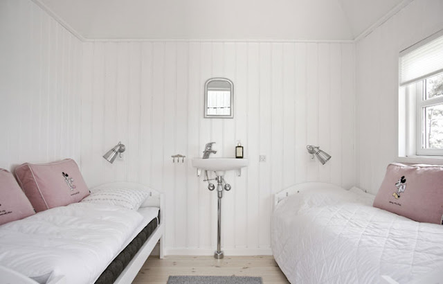 Amalie loves Denmark Ferienhaus in Dänemark Schlafzimmer