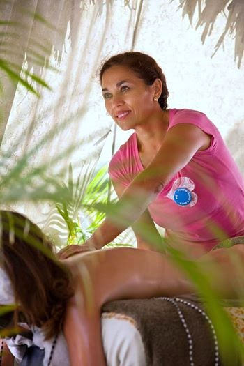 plaats massage klein
