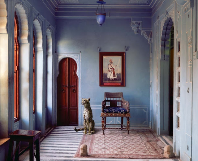 Karen Knorr photography - Animals interior design - old time palace