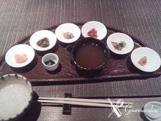 Gourmandise Ryokan Yuzuya Kyoto Japan café da manhã