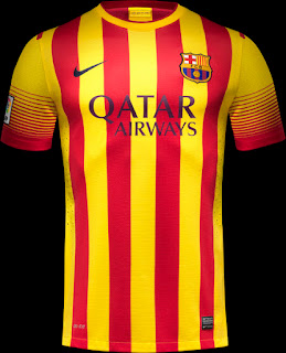 Uniforme Barcelona Away 2013-2014
