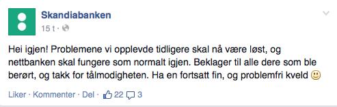 Skandiabanken eksempel 1