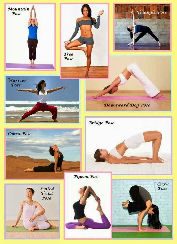 Yoga for beginners, yoga poses, yoga fitness. 2015
