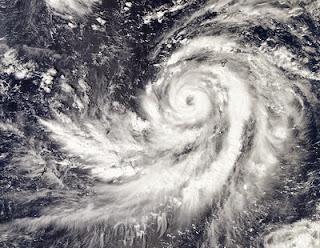 Taifun FRANCISCO zieht voraussichtlich nach Japan, HQ Satellitenfoto, 2013, aktuell, Francisco, Japan, Oktober, Satellitenbild Satellitenbilder, Taifunsaison 2013, Vorhersage Forecast Prognose