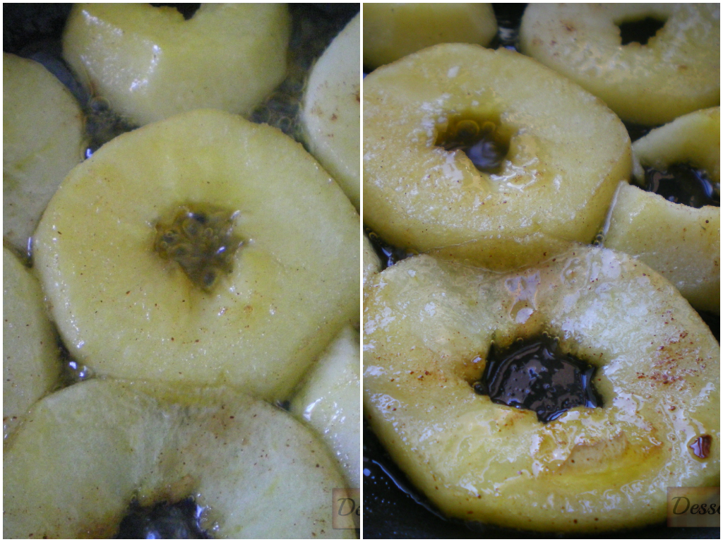 Manzana caramelizada