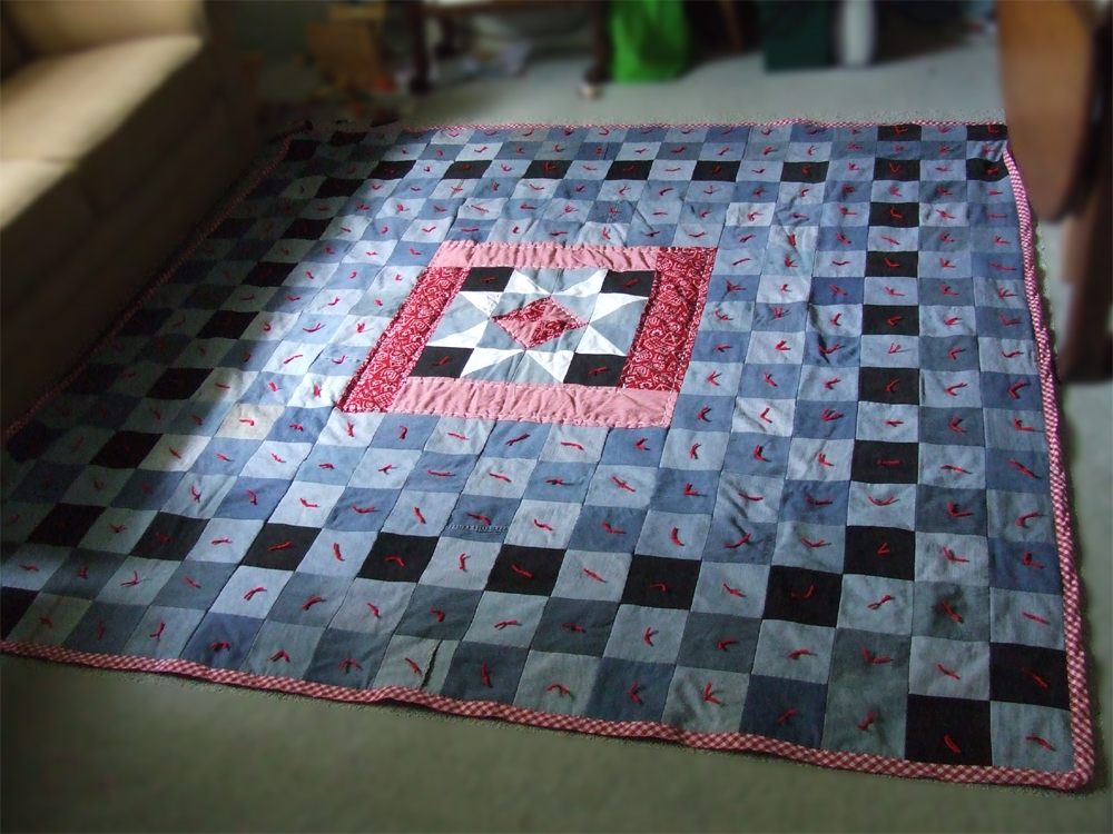 circle denim watch a make quilts quilt jean how to youtube
