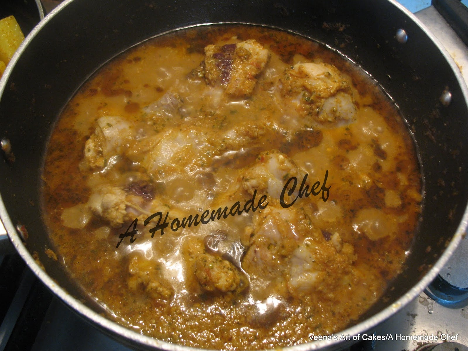 Quick and Easy Chicken Curry - Veena Azmanov