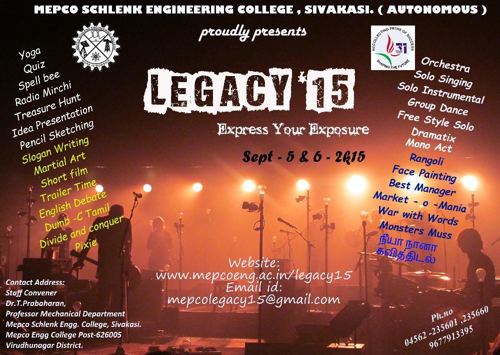 Legacy 15