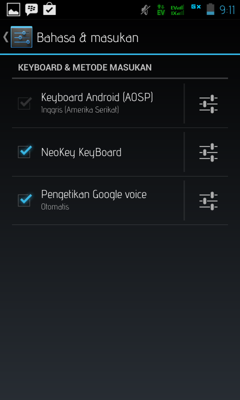 cara merubah keyboard berwarna di Android