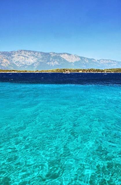 Sedir Island, Turkey.