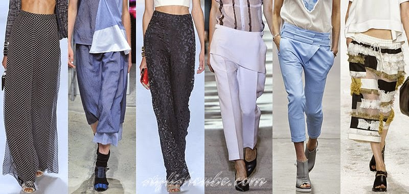 Summer 2014 Women's Pants Fashion Trends