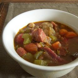 Swankety Swank: Meat And Poultry - The Best Bean And Ham Soup