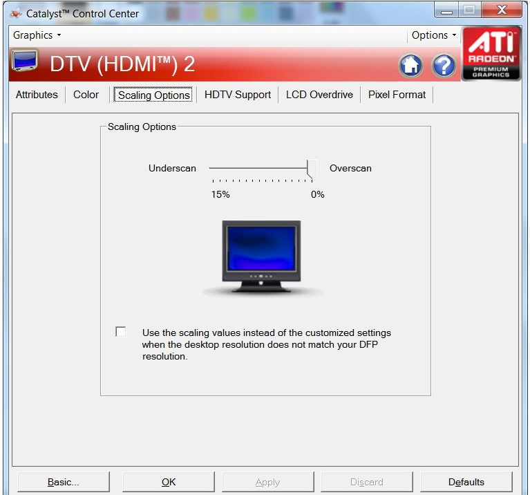 how to fix ati catalyst control center problems