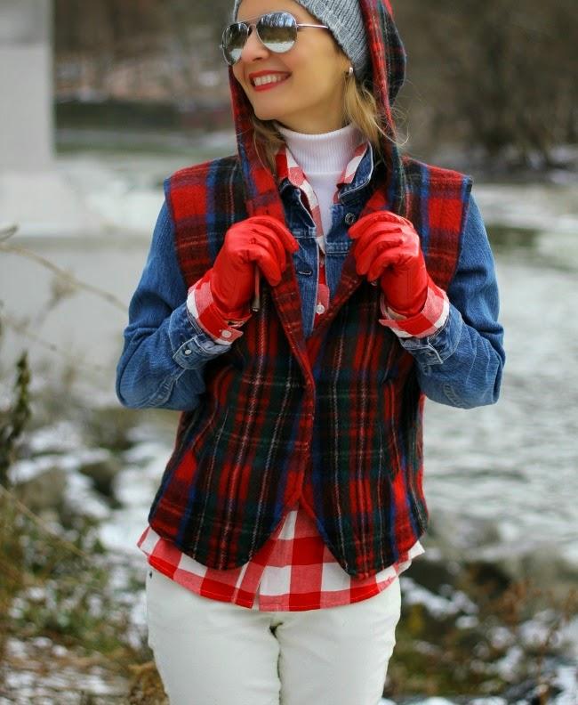 tartan vest amadeusonthecatwalk