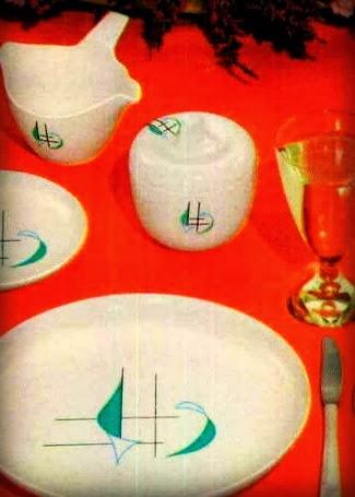 George Nelson designer Irving Harper Regatta Melmac Prolon