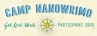 clkaywriter.com | C. L. Kay | Camp NaNoWriMo Banner 2015