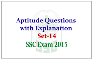 Practice Aptitude Questions with Solution for Upcoming SSC Exam