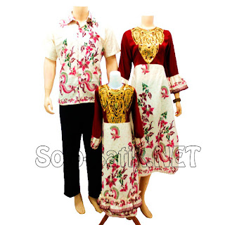 SK 016 Sarimbit Batik Keluarga Pasangan Solo 2013
