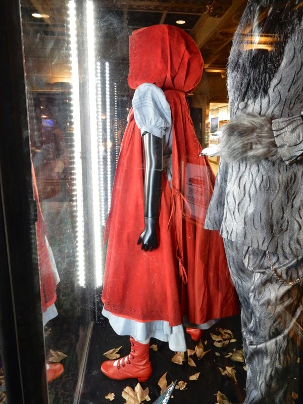 Little Red Into the Woods costume detail