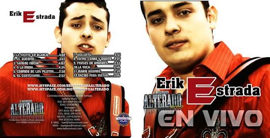 Erik Estrada - En Vivo (Disco - Album Oficial 2010)