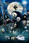 . always a fan of dark, mysterious gothic concept of Tim Burton's movies,