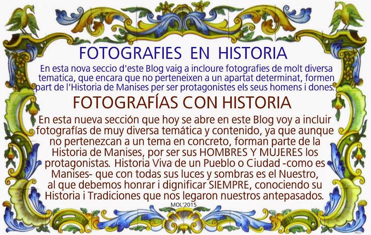 FOTOGRAFIES EN HISTORIA, FOTOGRAFÍAS CON HISTORIA