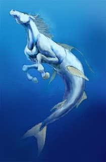 Mythical water horses - photo#11