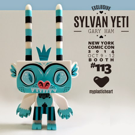"New York Comic Con 2014 Exclusive ""Yeti"" Sylvan Vinyl Figure by Gary Ham"