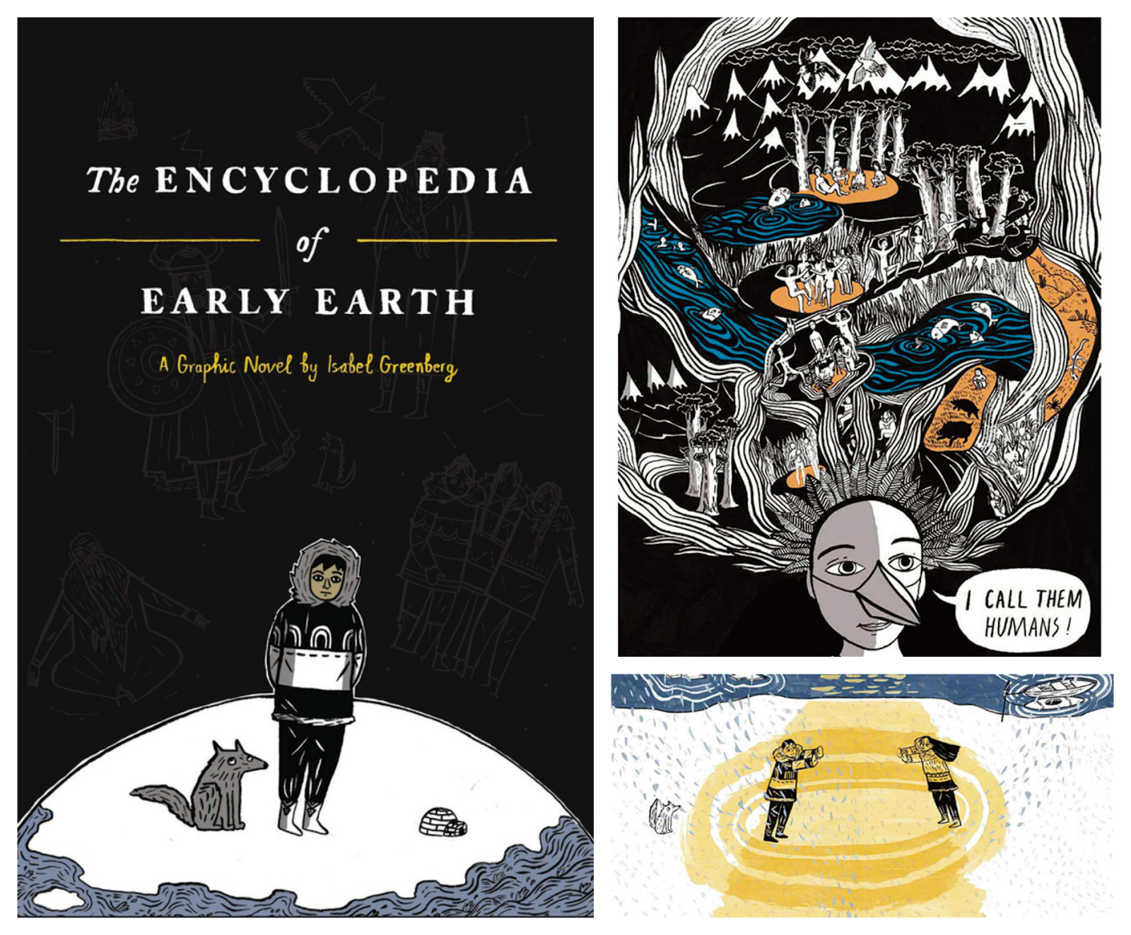 the encyclopedia of early earth by isabel greenberg review