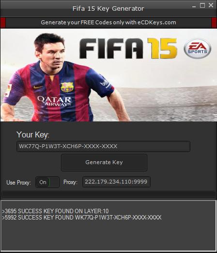 fifa 2015 license key free